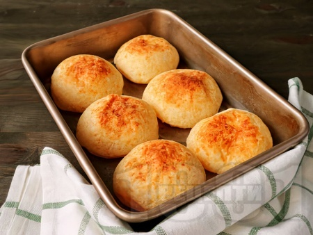 Лесни безглутенови питки от оризово брашно, кисело мляко и сода - снимка на рецептата